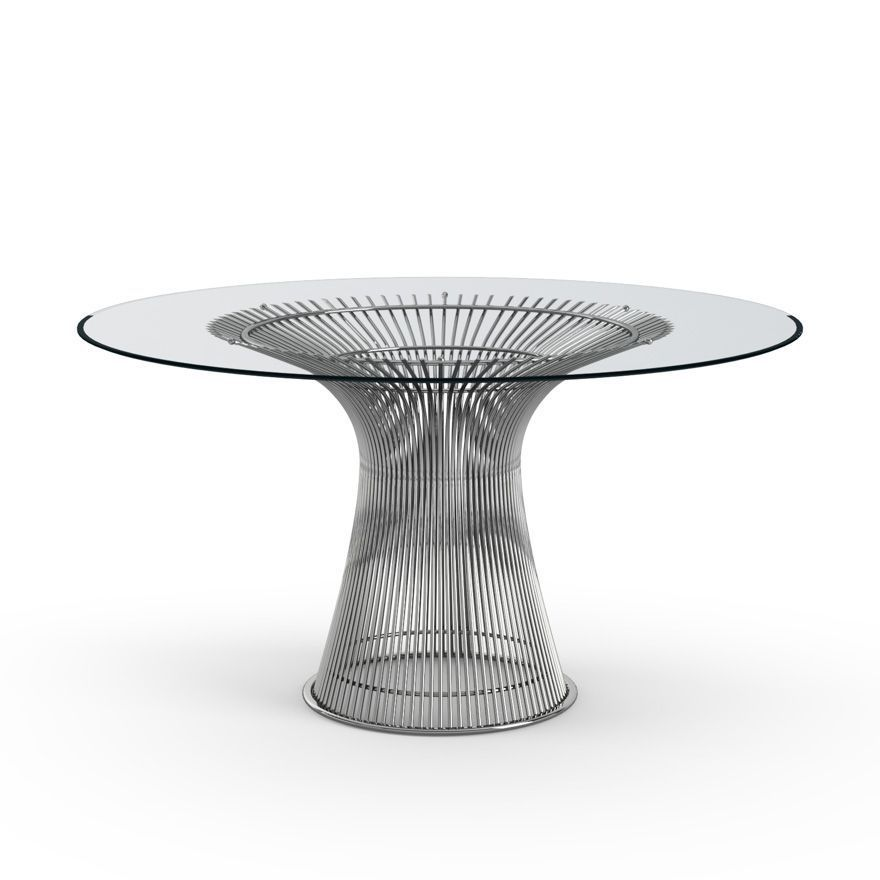 Polished Platter Table - Knoll