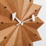 Watch Fan Clock by George Nelson edited by Vitra
