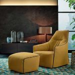 Santa Monica lounge armchair - Poliform