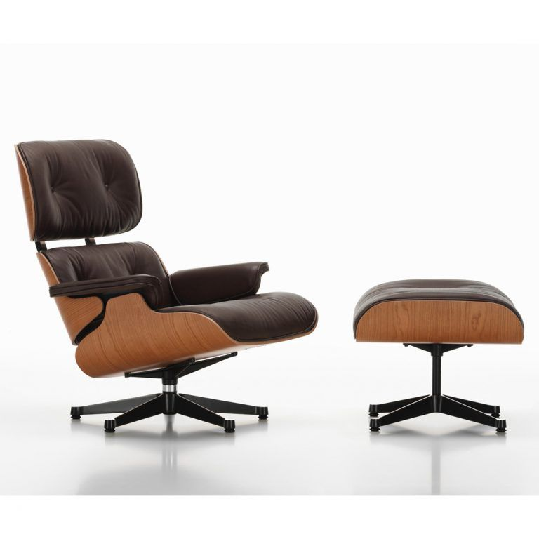 Lounge Chair and Ottoman - Vitra (copia)