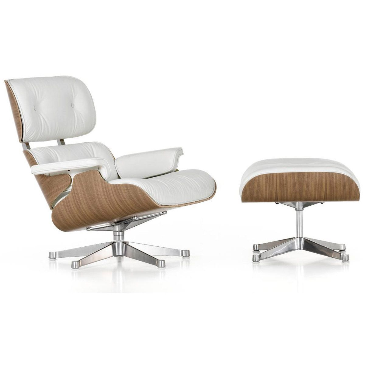 Lounge Chair and Ottoman - Vitra