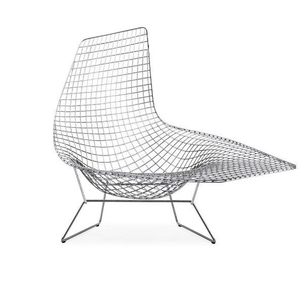 Chaise Longue Bertoia By Knoll