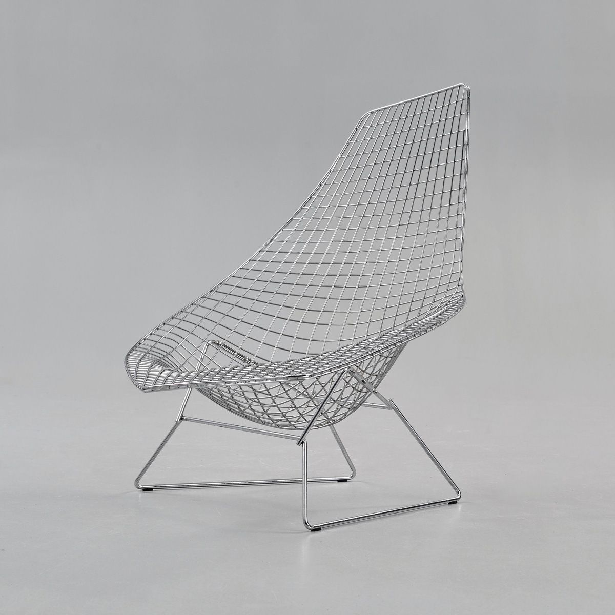 Chaise Longue Bertoia Without Upholstery