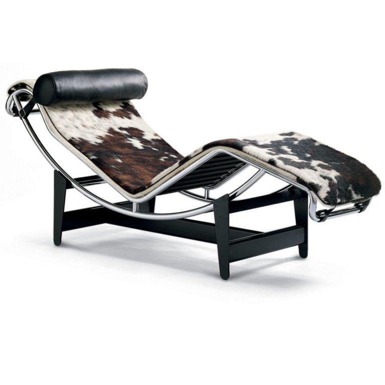 Chaise Longue LC4 Piel con pelo - Cassina (copia)