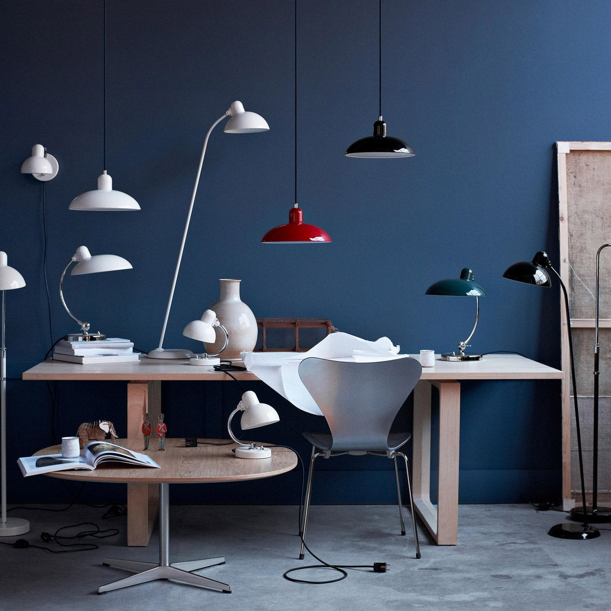 Kaiser Idell 6631 lamp by Christian Dell edited by Light Years
