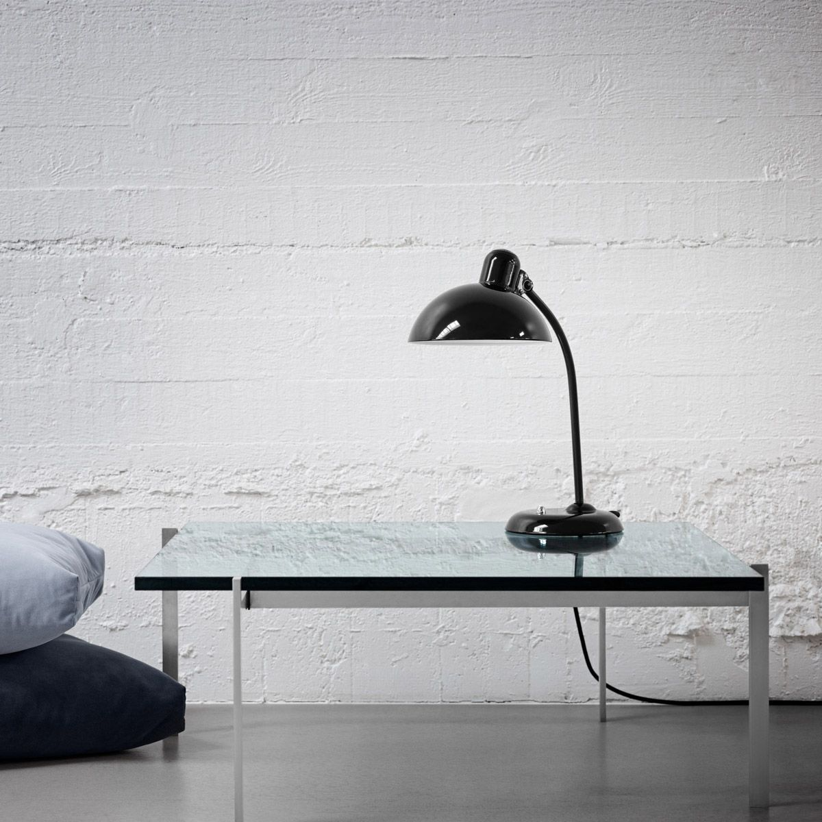 Kaiser Idell 6556T Black Lamp by Christian Dell edited by Light Years