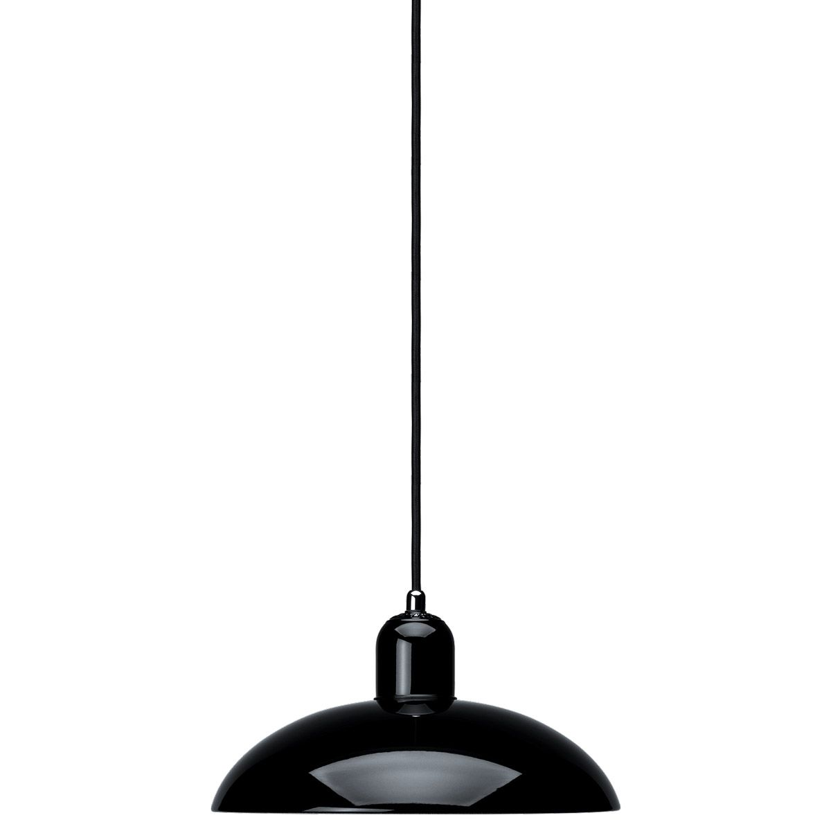 Lamp Kaiser Idell 6631P Black by Christian Dell edited by Light Years