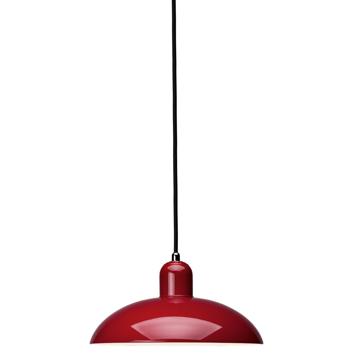 Lamp Kaiser Idell 6631P Red by Christian Dell edited by Light Years