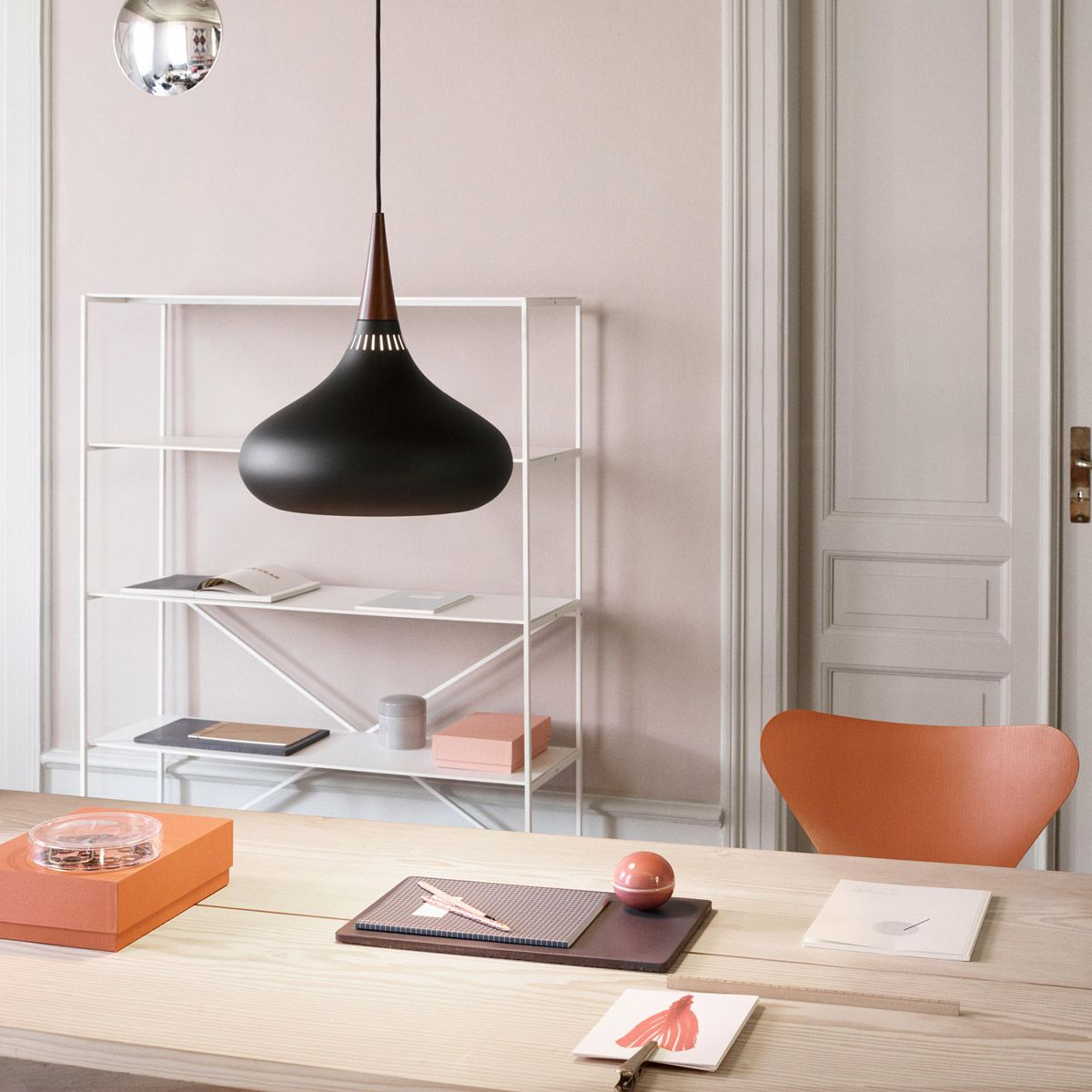 Orient black lamp by Jo Hammerborg edited by Light Years