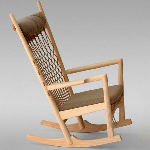 Pp124 rocking chair - PPMobler