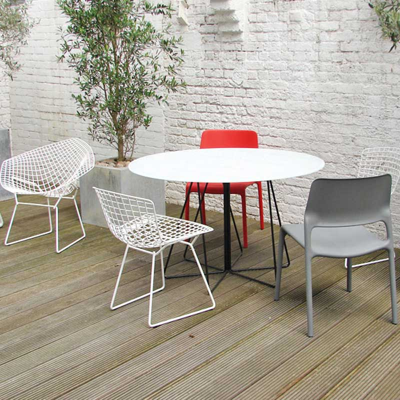 Outdoor table Paperclip - Knoll