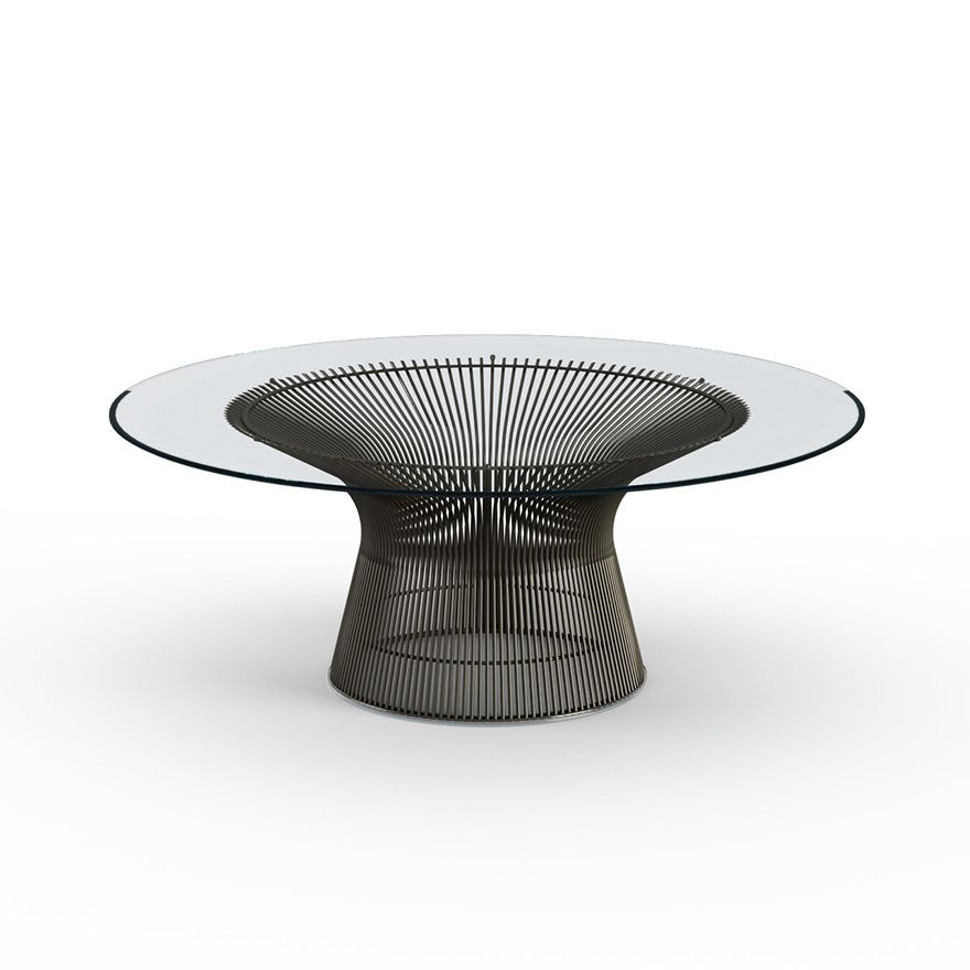 Table d'appoint Coffee Platner 107 Bronze - Knoll