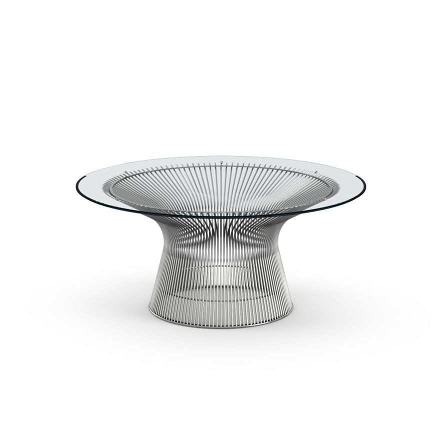 Table d'appoint Coffee Platner 91 Nickel - Knoll