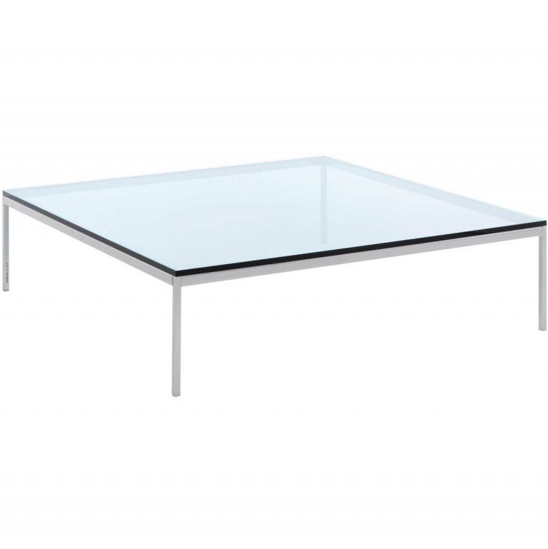 Square coffee table Florence 120 - Knoll