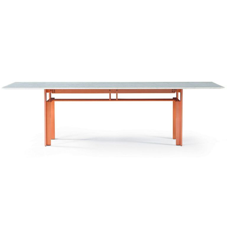 Copper marble Doge table - Cassina
