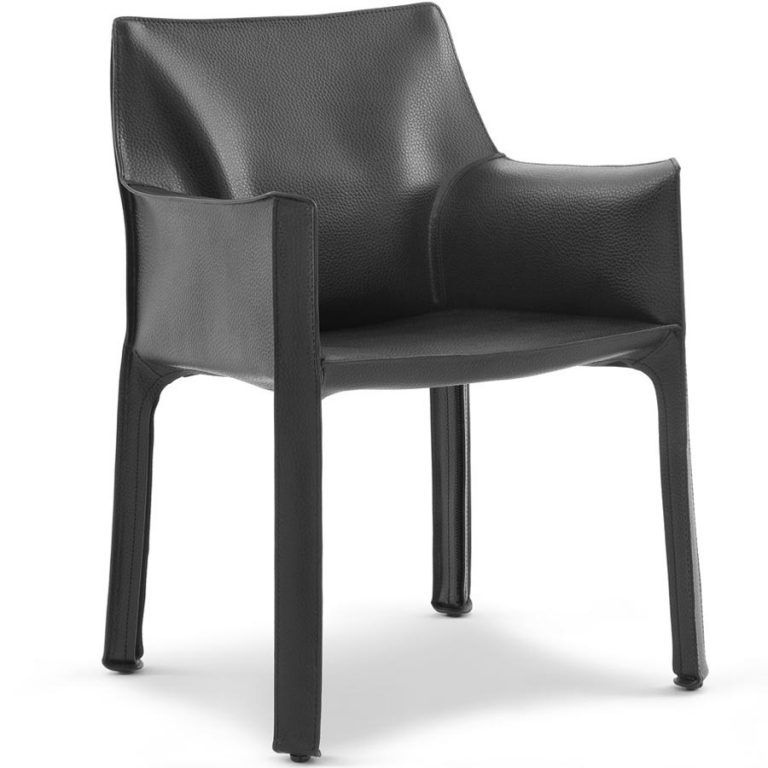 413 Cab Black Chair - Cassina
