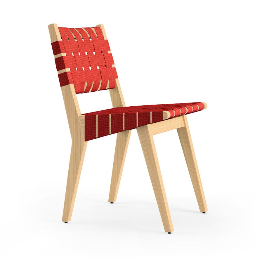 Red Risom Chair - Knoll