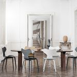 Chair Grand Prix Wood by Arne Jacobsen edited by Fritz Hansen