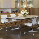 Chair Aluminum Group EA 108 by Charles and Ray Eames edited by Vitra