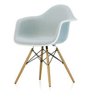 Chair Eames Plastic Chair DAW Upholstered - Vitra