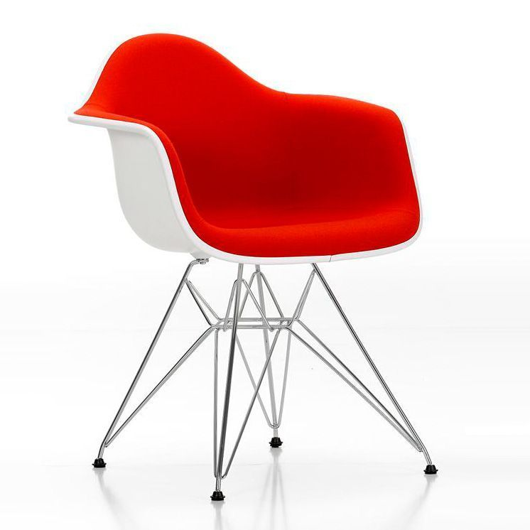 Chair Eames Plastic Chair DAR Upholstered - Vitra