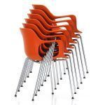 Hal Chair Armchair Tube Stackable by Jasper Morrison edited by Vitra