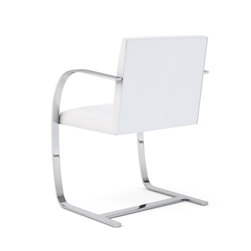 Fauteuil Brno Plate Blanc - Knoll
