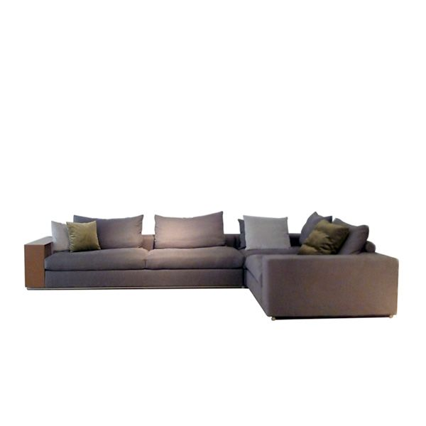 The Flexform Groundpiece Sofa With Storage Containers A Height Of 56 Cm