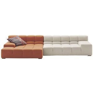 The Tufty-Time modular sofa is designed by Patricia Urquiola for the firm B & B Italia, which reinterprets classic typologies such as â € ~chesterfieldâ € ™ and â € ~capitonnéâ € ™ proposing an informal system with free and versatile configurations. Starting from the pouf and combining the different modules with their depths, traditional sofas are obtained, with chaise longue, angular and island elements that allow to sit in a circle. Tufty- Time becomes a refuge in which to leave. Price for the sofa with TT022 configuration, upholstered in category A. Consult configurations, finishes and prices in the stores of NAHARRO