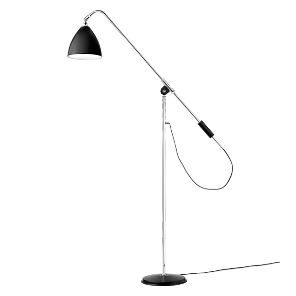 The Bestlite lamp collection was designed by Robert Dudley Best edited by the firm Gubi. The Bestlite BL4 floor lamp, like the rest of the collection, is inspired by the Bauhaus movement and its production has not been interrupted since 1930. Formed by table lamps, suspended and standing in different sizes thanks to its unique aesthetics and functionality have become an icon of contemporary design. Details: Made of steel and aluminum in different finishes. See all the information in NAHARRO.