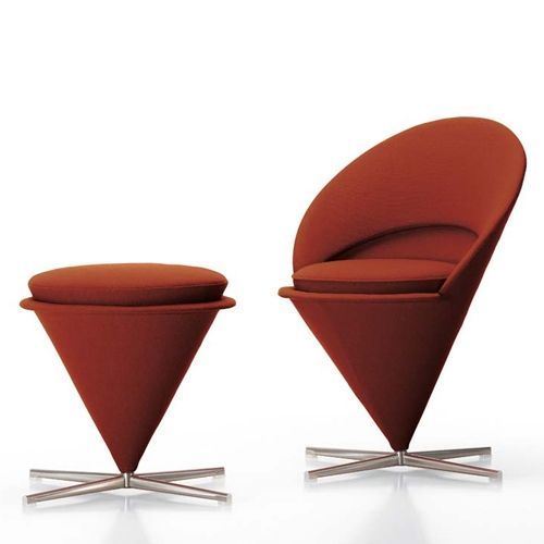 Cone Chair & Chaise Tabouret - Vitra
