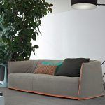 The Santa Mónica sofa is designed by Jean-Marie Massaud for the firm Poliform, a basic sofa with cozy and comfortable lines that offers an aesthetic of great originality thanks to the seasonal coverings, giving it an informal and chic style. Details: available different fabrics, cushions and accessories that give personality to the sofa. Price for fabric in Category B of the manufacturer, sample of fabrics available in store. More information in NAHARRO.