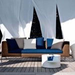 Thirteen years after its debut in the B & B Italia collection, the Charles sofa, a long-established bestseller for the company, designed by Antonio Citterio, has created a new version suitable for outdoor spaces: Charles Outdoor. The characteristics that made the Charles sofa a contemporary classic have remained unchanged in all the elements of this new series. The new parts maintain the beauty and simplicity of the original project, evolving for practical use outdoors thanks to its lightweight aluminum structure. The Charles Outdoor Collection is composed of several modules and combinations of elements, plus seats and cushions are available in a wide variety of tissues. Please contact us for more information and product prices.