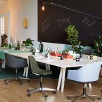 Softshell office chair by Ronan and Erwan Bouroullec edited by Vitra