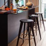 Tabouret Haut Roble oscuro - Vitra