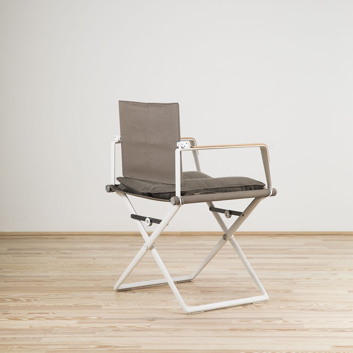 Seax Taupe chair designed by Jean-Marie Massaud and edited by Dedon