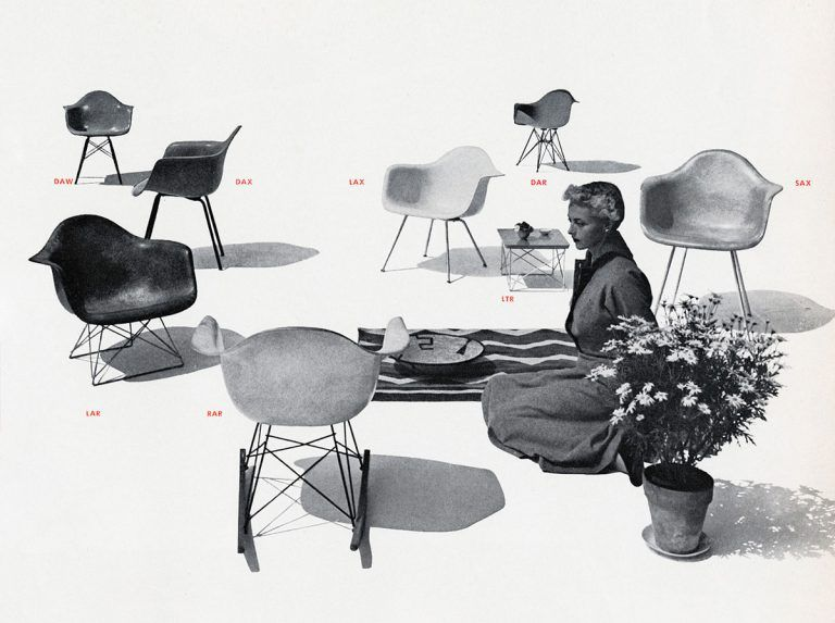 THE HISTORY OF EAMES PLASTIC CHAIR