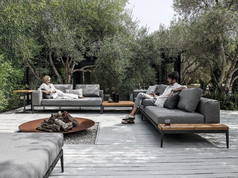 Gloster, inspiring designs for outdoor spaces. Now Naharro
