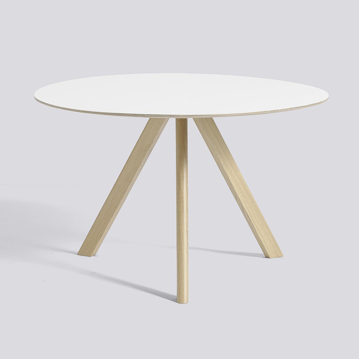 CPH table 20 120 Lacquered white lacquered oak - HAY
