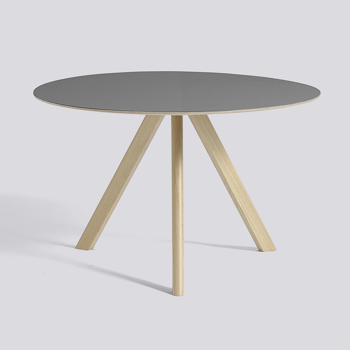 CPH table 20 120 Gray lacquered oak - HAY