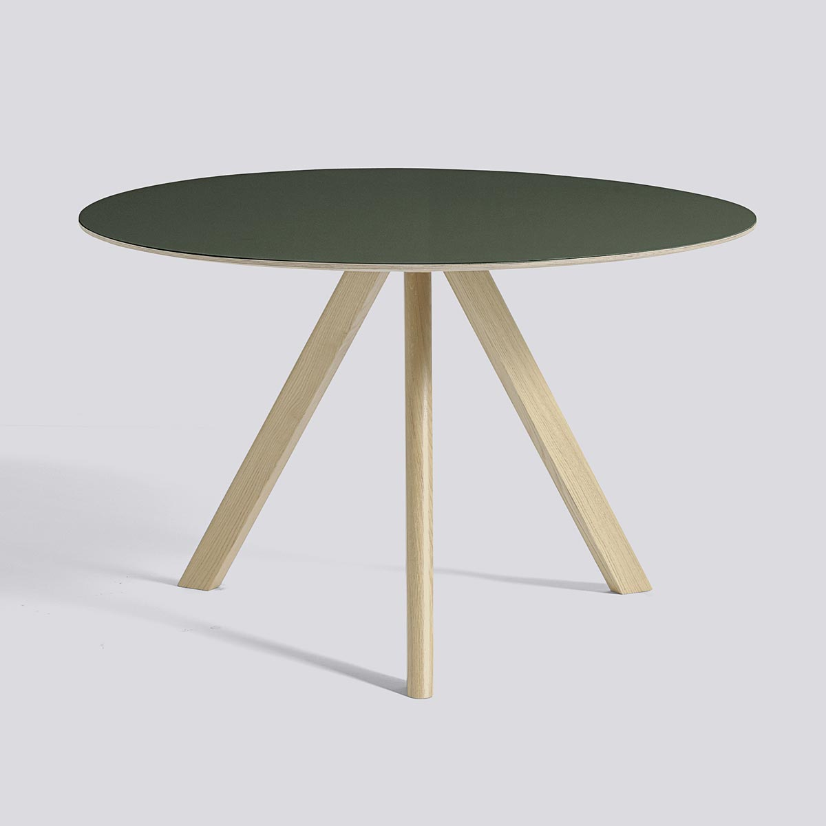 CPN Table 20 120 Green Lacquered Oak - HAY