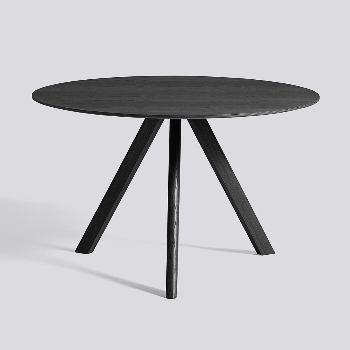 CPH table 20 120 Black stained oak - HAY