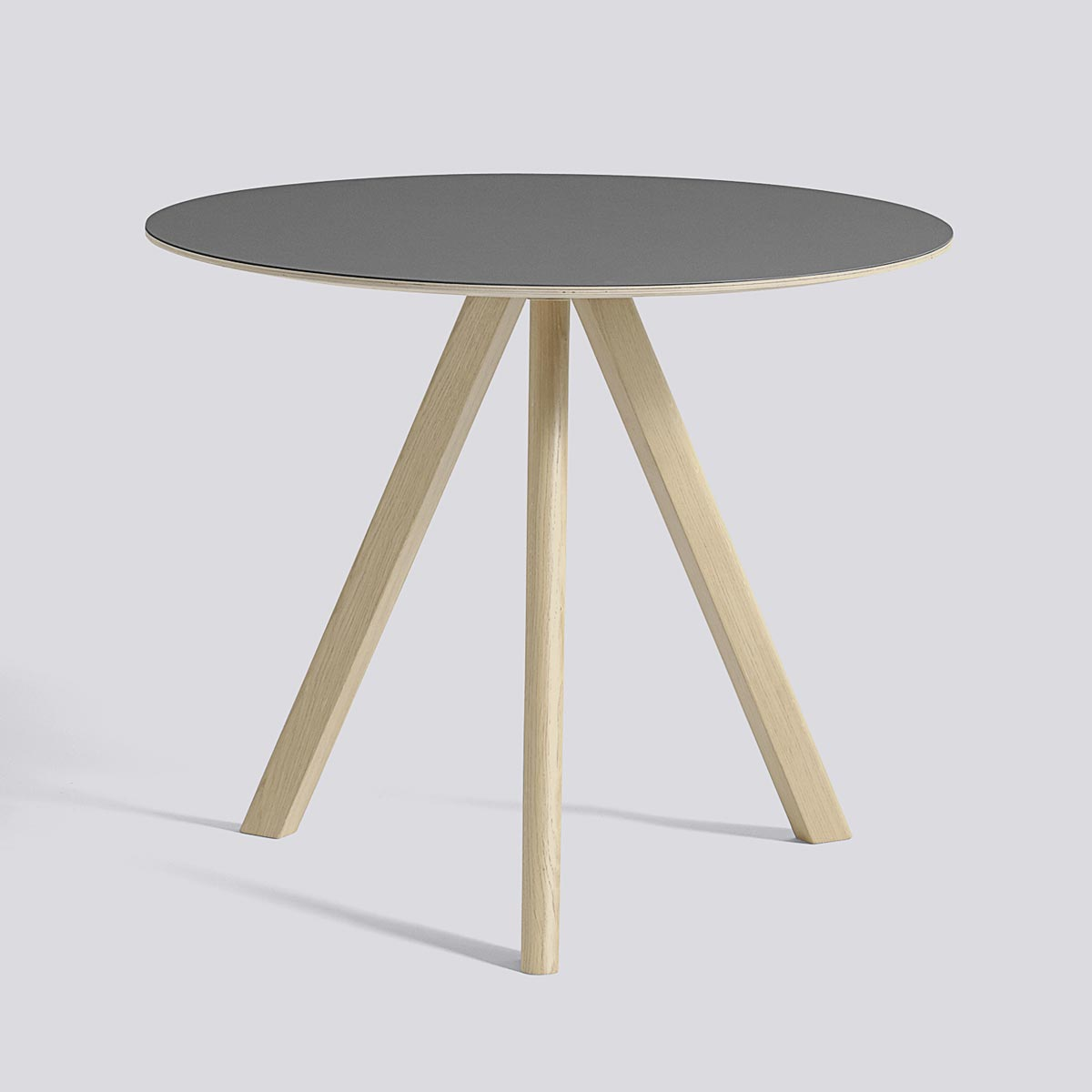 CPH table 20 90 Gray lacquered oak - HAY