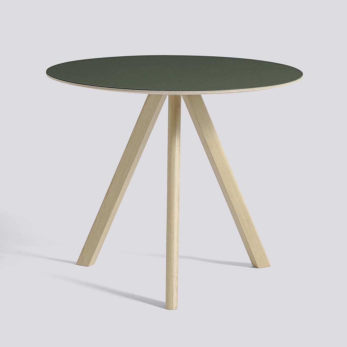 CPN Table 20 90 Green Lacquered Oak - HAY