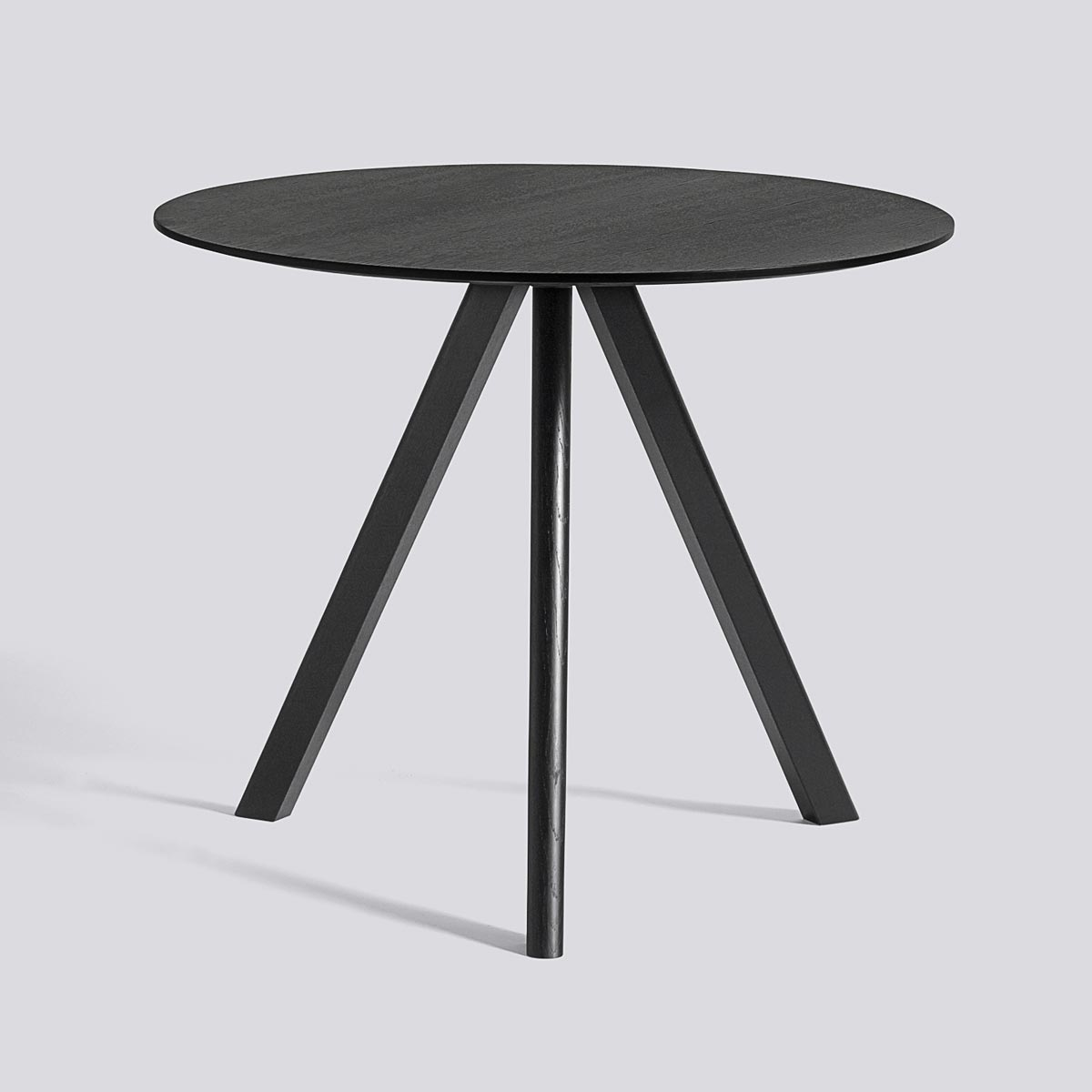 CPH table 20 90 Black stained oak - HAY
