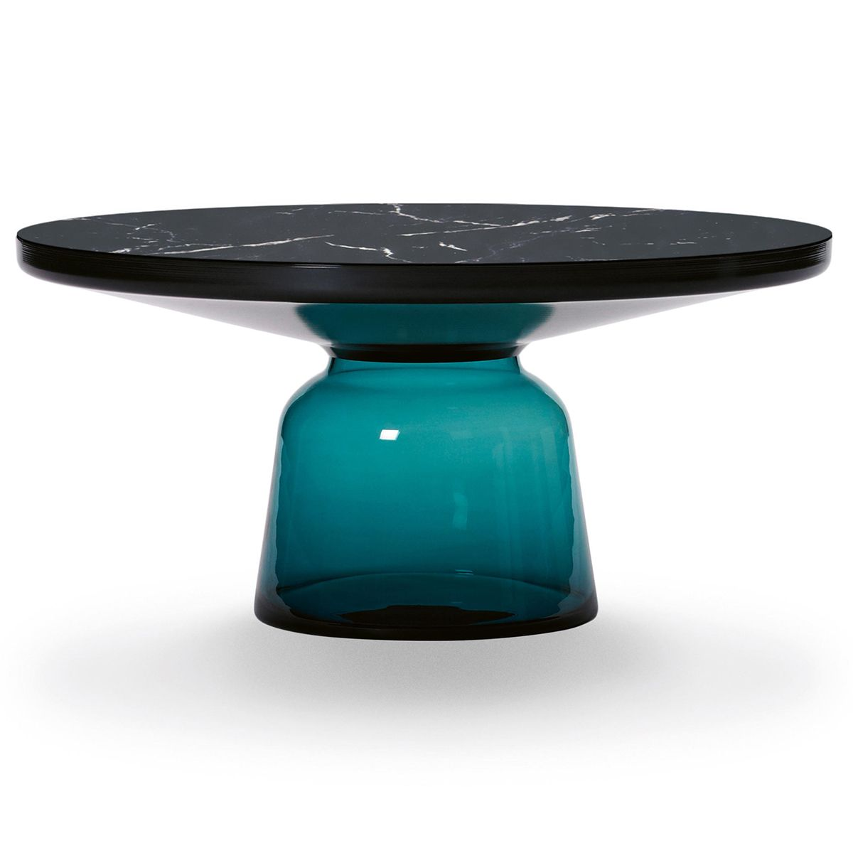 Table basse Bell noire Blue Mountain Marquina - Classicon