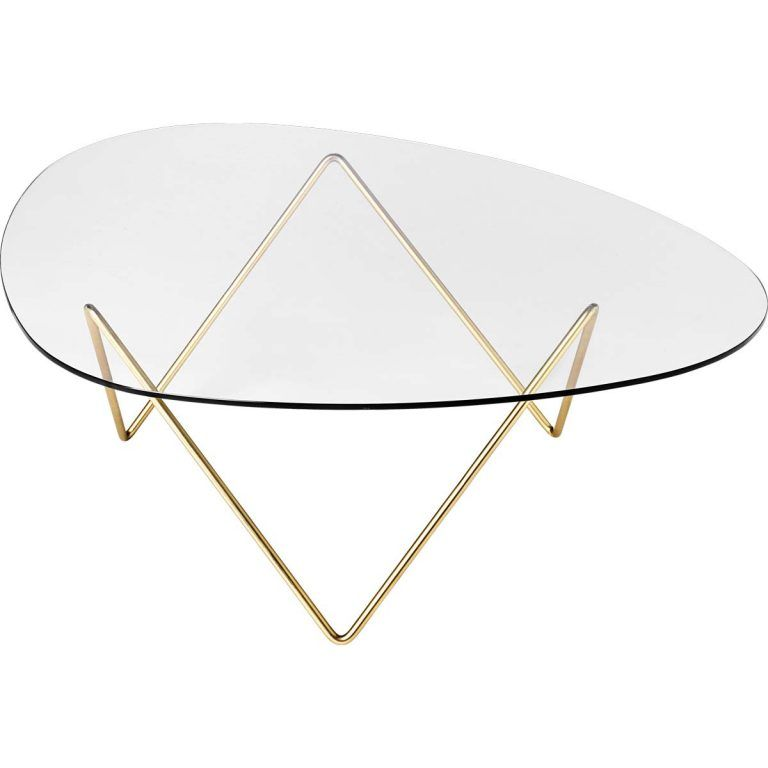 Auxiliary table Pedrera Brass - Gubi