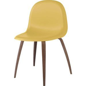 Chair 3D Nogal Hirek Venetian Gold - Gubi