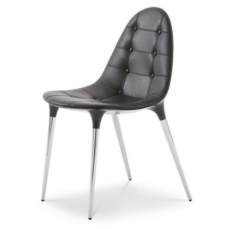 Chair Caprice Black Chrome - Cassina