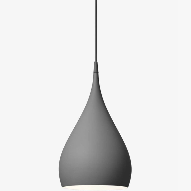 Spinning lamp BH1 gray - & Tradition